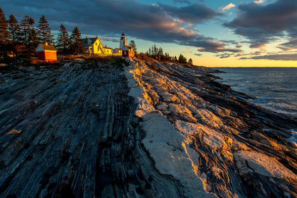 Pemaquid Point Light Photography Art   Craig Primas Photography