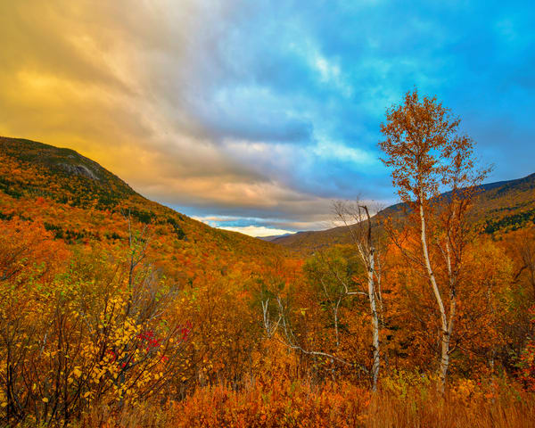 Late In Day White Mountains Nh Photography Art | Craig Primas Photography