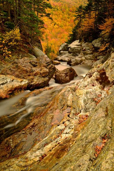 Glen Ellis Falls Fall Photography Art | Craig Primas Photography