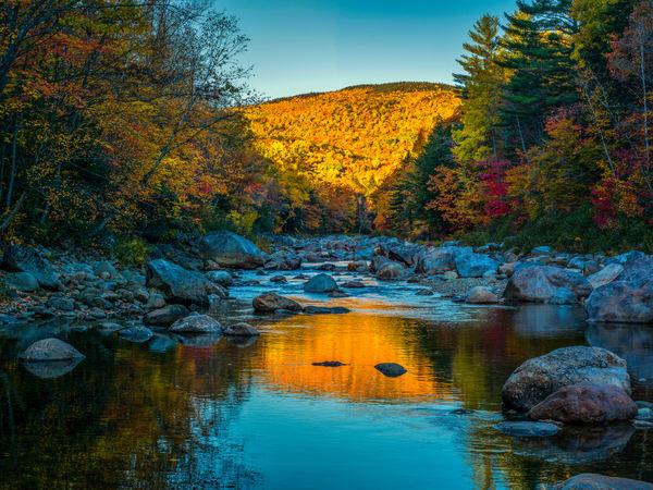 White Mountains Creek Reflection Photography Art | Craig Primas Photography