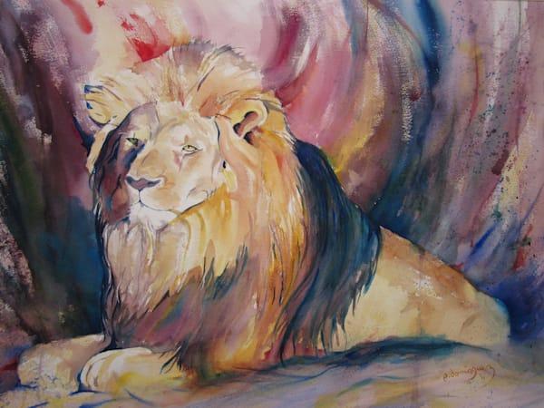 King Of The Jungle Art | Patrick Dominguez Art