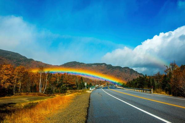 White Mountain Rainbow Photography Art | Craig Primas Photography