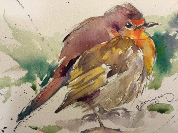 Fat Robin Art | Patrick Dominguez Art