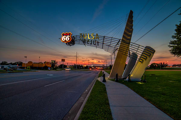 Route 66 Tulsa, Oklahoma, photography prints