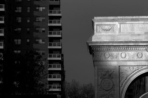 Last Light, Washington Square Park Photography Art   Peter Welch