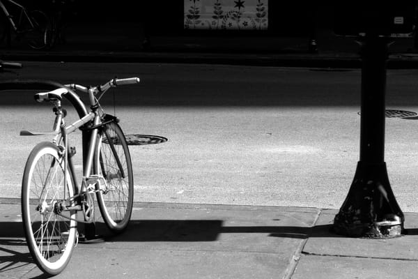 Bicycle At Rest, Chicago Photography Art by Peter Welch