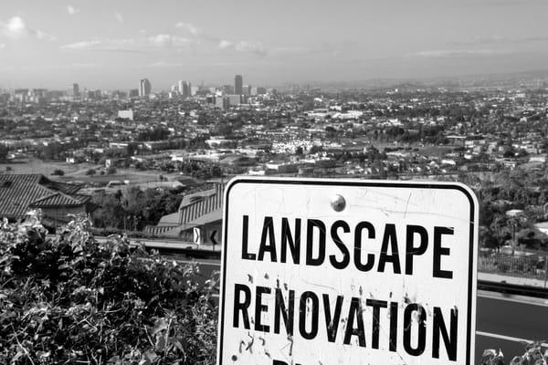 Landscape Renovation, Long Beach Photography Art   Peter Welch