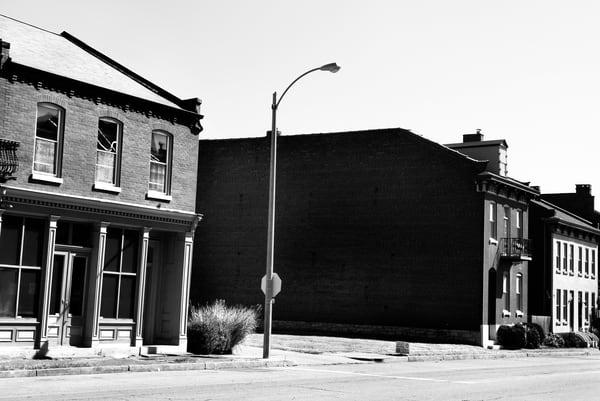 Empty Street, Saint Louis Photography Art | Peter Welch