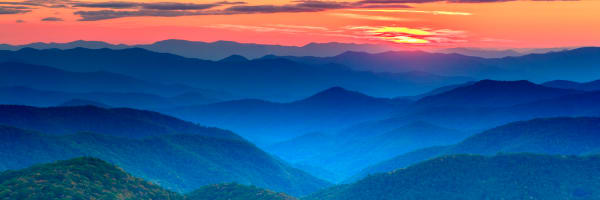 The Blue Ridge Photography Art | Red Rock Photography