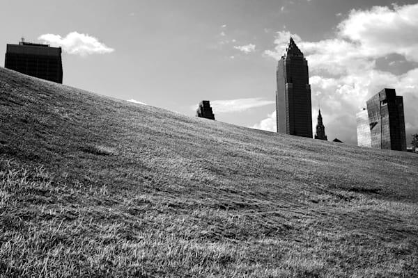 Cleveland Skyline Photography Art   Peter Welch