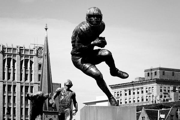 Football Statue Photography Art | Peter Welch