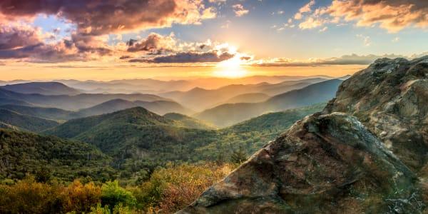 Bear Trap Rock Sunset Photography Art | Red Rock Photography