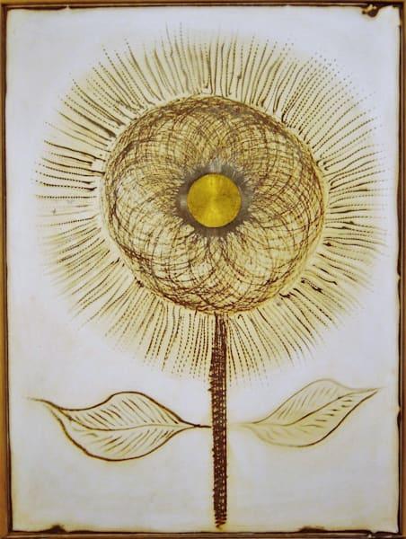 One Sunflower Art by mklineart