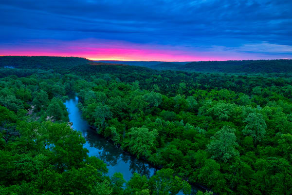 Richardson Bluff And The Big Piney Photography Art | Craig Primas Photography