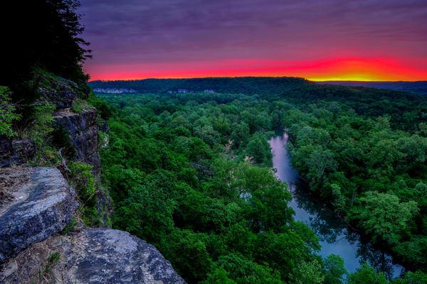 Richardson Bluff Sunrise 817 Photography Art | Craig Primas Photography