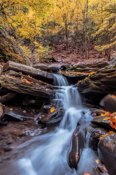 Fall at Kaaterskill Creek | Shop Photography by Rick Berk