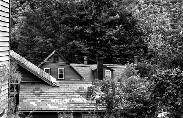 Rural New England Rooftops Photography Art | Peter Welch