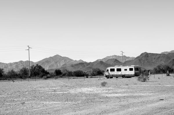 Lone Winnebago  Photography Art | Peter Welch
