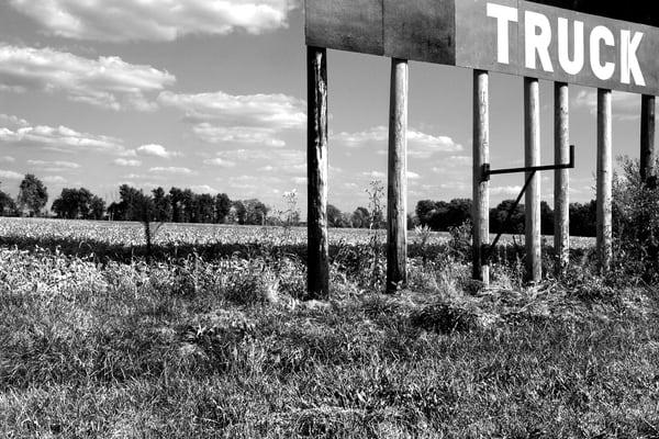 Truck Stop Photography Art | Peter Welch