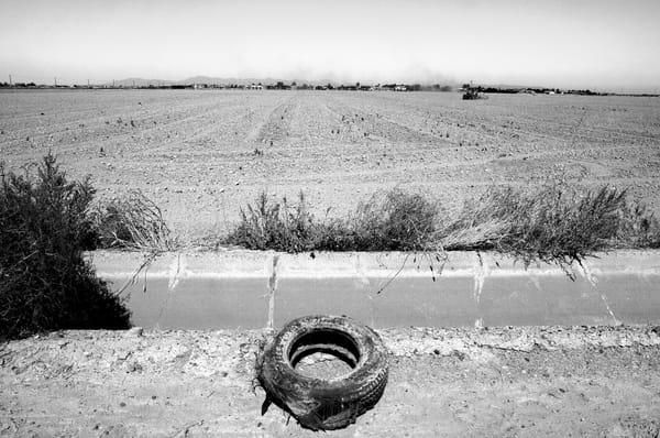 Flat Tire & Dusty Farm Photography Art | Peter Welch
