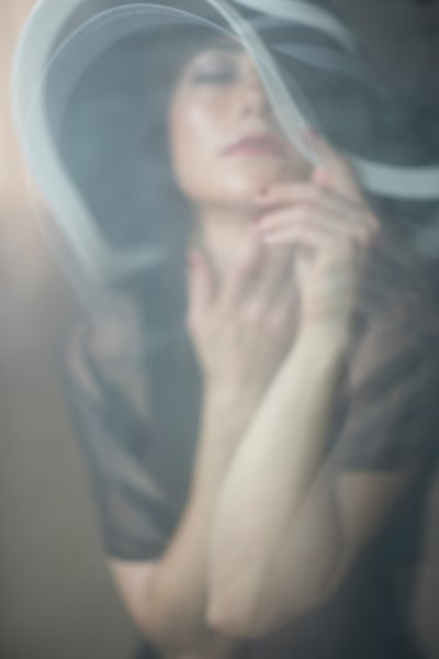 The Seductress Abstract Portrait Photography Fine Art Print by Silvia Nikolov