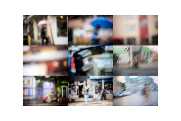 Streets - Abstract Street Photography - Fine Art Print by Silvia Nikolov