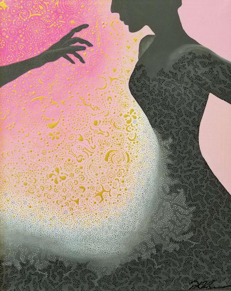 Magic Hand, Lace Gown Art | TAVolgenau