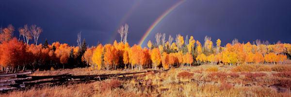 Red Desert Rainbow Photography Art | Craig Primas Photography