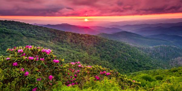 Catawba Sunset Photography Art | Red Rock Photography