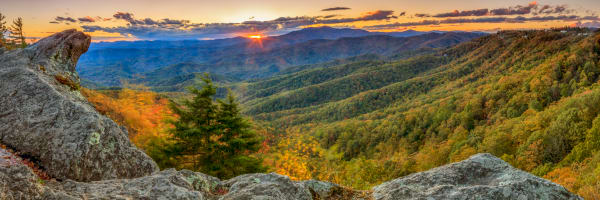 Sunset Blowing Rock Art | Red Rock Photography