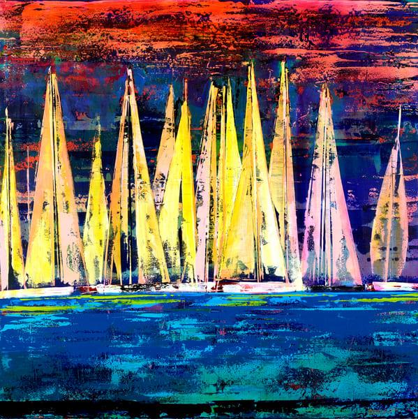 Sailing Eve Art | benbonart