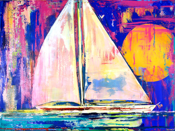 Setting Sail Art | benbonart