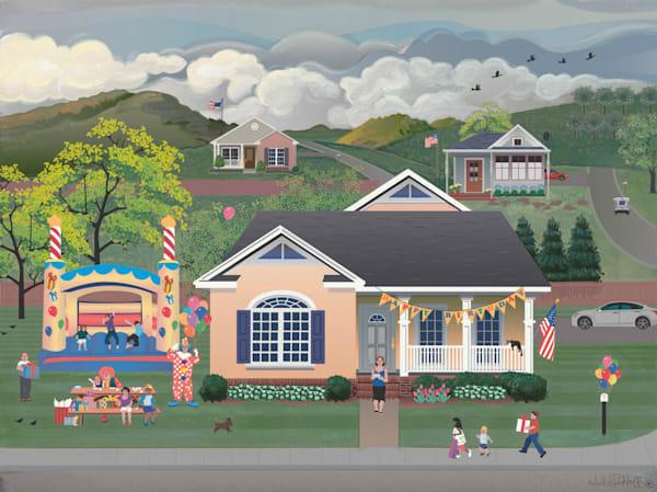 Bouncey House Birthday