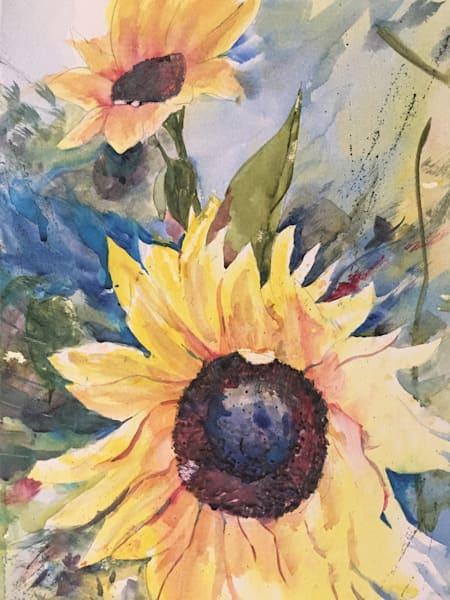 Amy's Sunflowers Art | Patrick Dominguez Art