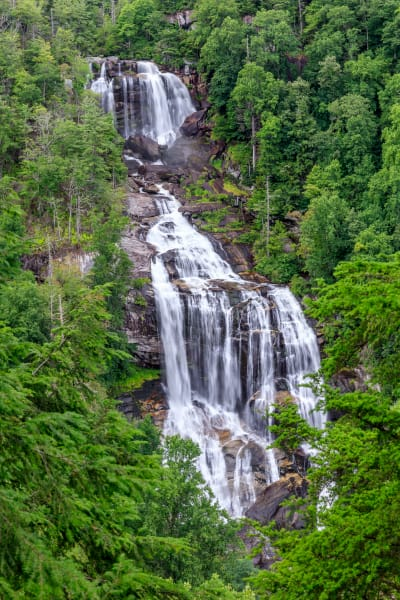 Summer At Whitewater Falls Art | Red Rock Photography