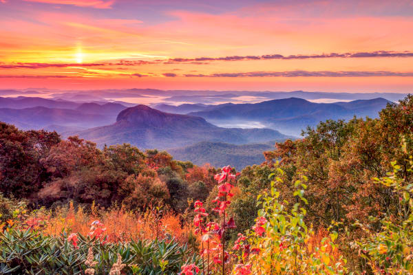 Autumn At Looking Glass Rock Photography Art | Red Rock Photography