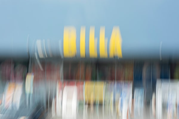 Moments On the Road #3 - Abstract Street Photography - Fine Art Print by Silvia Nikolov