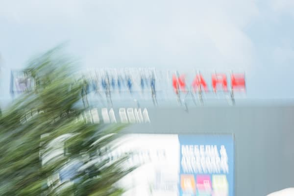 Moments On the Road #4 - Abstract Street Photography - Fine Art Print by Silvia Nikolov