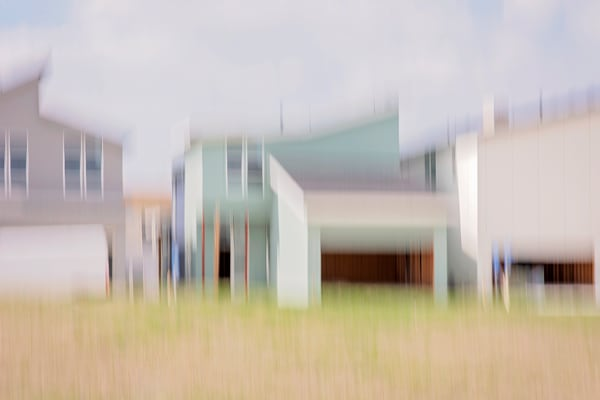 Moments On the Road #2 - Abstract Street Photography - Fine Art Print by Silvia Nikolov