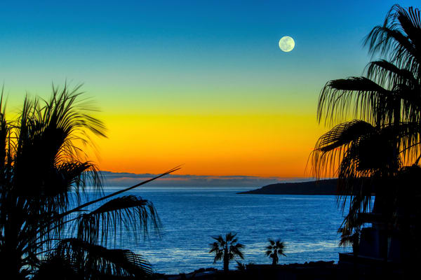 Cortez Moonrise Photography Art | Craig Primas Photography