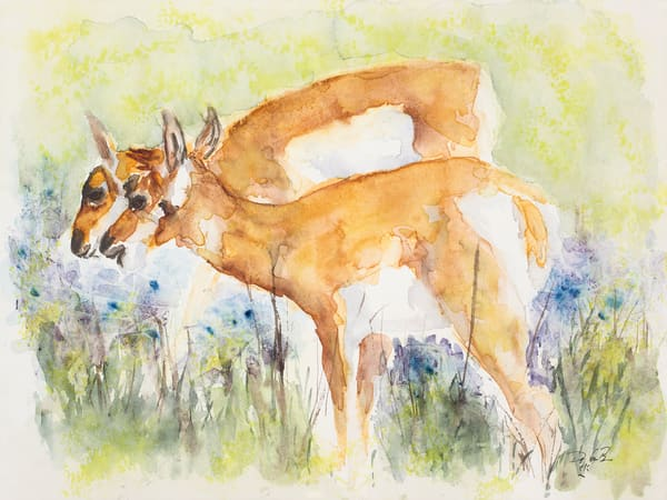 The Long Yearlings  Art | Debra Bruner Studio