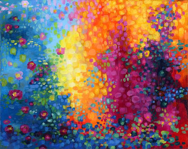 Water Shadows, Original Painting Art | Jessica Hughes Fine Art