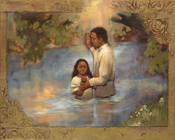 Baptism Art | Cornerstone Art