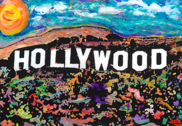 My Life In Hollywood | Places Art | JD Shultz Art