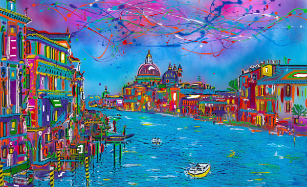 Venice | Places Art | JD Shultz Art