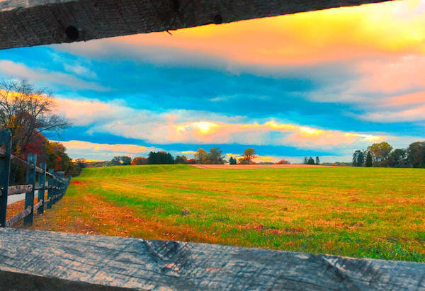 Field and Fence Fine Art Photography by Todd Breitling