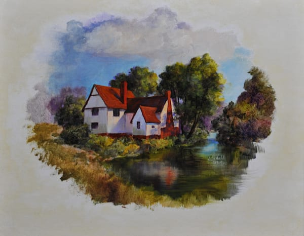 Willie Lott s Cottage Print