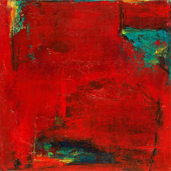 abstract, abstract print, red