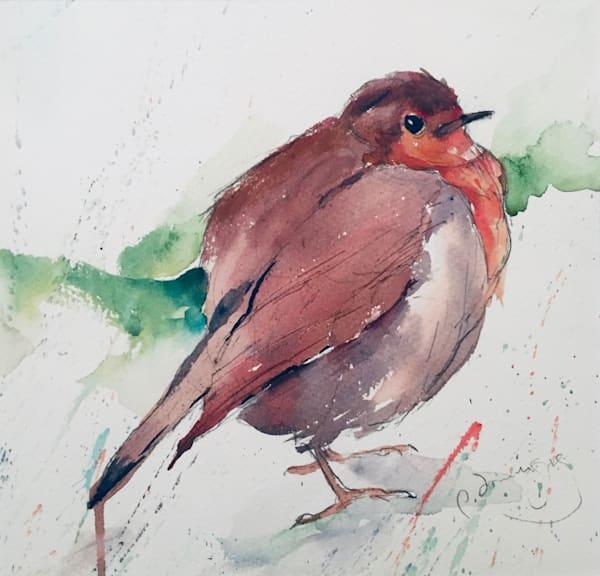 Fat Robin Ii Art | Patrick Dominguez Art
