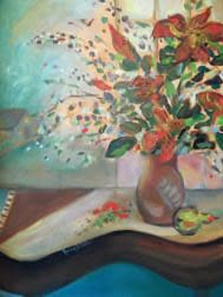 """""""Piano And Lilies"""" Art by cindyharr.com"""